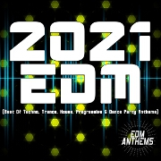 2021 EDM: Best Of Techno, Trance, House, Progressive And Dance Party Anthems by Various
