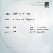 Contractural Obligation by Monty Python
